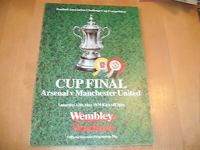 1979 FA CUP FINAL ARSENAL v LIVERPOOL