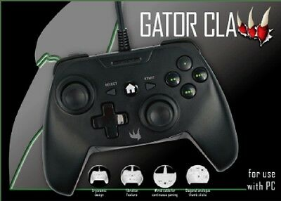 Xbox One & Pc * Gator Claw Great Branded Gaming Controller Game Pad * New