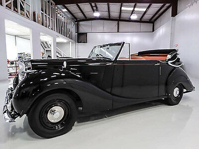 1951 Bentley Other Mark VI James Young Drophead Coupe 1951 Bentley Mark VI, One of only 3 produced! Known ownership since new!!