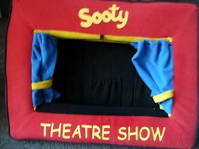 Sooty Theatre Show For Finger Puppets