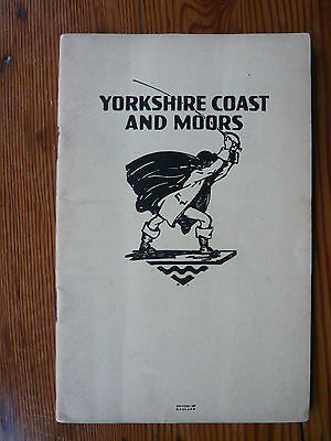 London North Eastern Railway Yorkshire Coast and Moors booklet