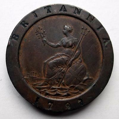 1797 George III Cartwheel Two pence