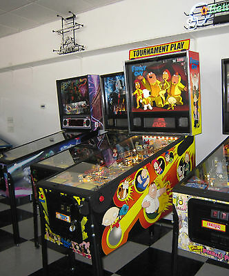 Family Guy Pinball Machine By Stern ~ Rare Find ~ Shopped & Led Upgraded