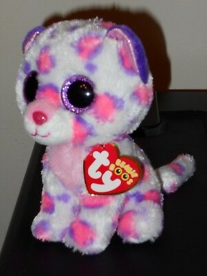 "CT* Ty Beanie Boos - SERENA 6"" Snow Leopard ~ Justice Exclusive ~ MWCT ~ NEW"