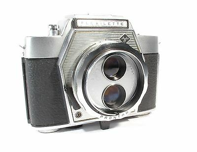 Agfa Flexilette 35mm Film TLR Camera from 1960s - Very Rare & Working