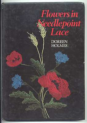Flowers In Needlepoint Lace  Book
