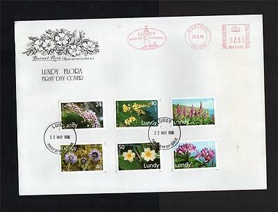 Lundy: 1996 Flora First Day Cover