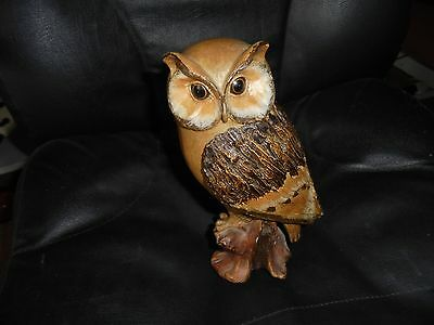 Collectors large owl figure