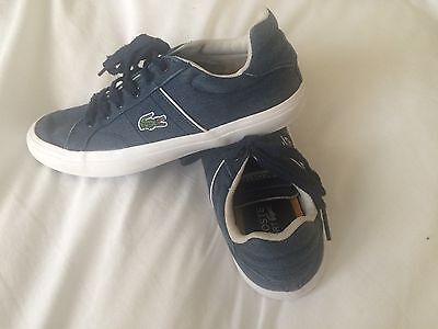 Kids Lacoste Trainers. Size 2. VGC