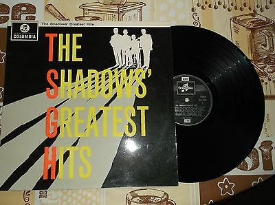 LP-The Shadows-Greatest Hits-SCX1522-Columbia-1960s-1st press