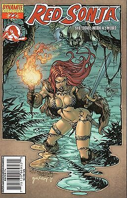 Red Sonja #22 (NM)`07 Oeming/ Reed/ Homs  (Cover A)