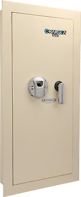 Barska Biometric Wall Safe w/ Fingerprint Lock, Left Side Opening, AX12880