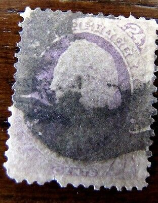 Scott #153 24 Cent Banknote1870-79 US Stamps 3763