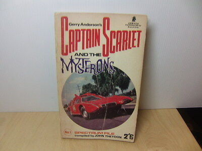 Gerry Anderson's Captain Scarlet and the Mysterons by John Theydon 1967 PB Book