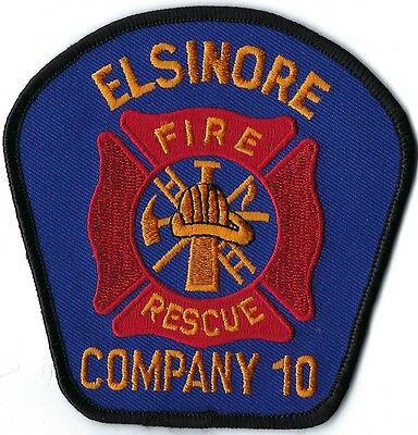 Elsinore Fire Department Company 10 Patch