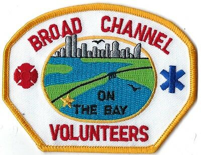 Broad Channel Volunteers Fire Department Patch