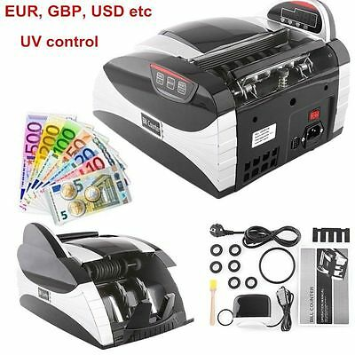 Bank Note Currency Counter Count Detector Money Fast Banknote Pound Cash Count