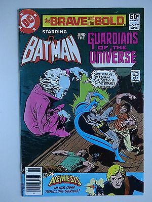 Brave and the Bold #173  High Grade VF+  Batman Guardians of the Universe  Aparo