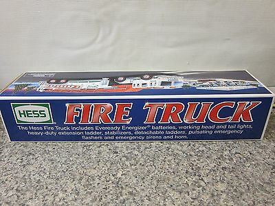 2000 Hess Gasoline  Fire Truck Gas XMas Toy Express