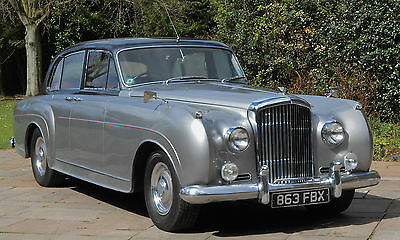 "1957 BENTLEY S1 MULLINER ""Continental"" 6 light aluminium special saloon 1of 27"