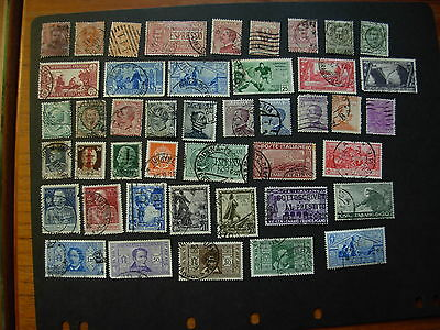 Italy/italia Used: Old Collection-7 Pics, See Descript, Nice, #sj727