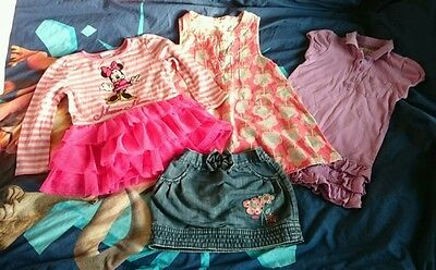 baby girl dresses and skirt size 18-24 months