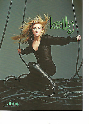 Kelly Clarkson, Sexy Full Page Color Pinup, Jason Dolley