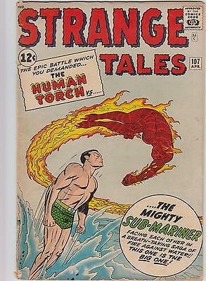 Strange Tales # 107, Human Torch, Sub-Mariner appearance