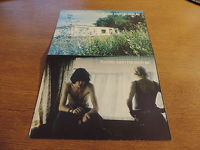 Placebo every you every me postcard size advert card