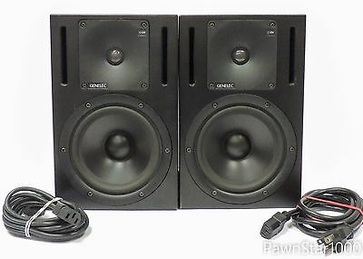 Genelec 1030a Bi-Amped Nearfield Monitor Speakers - One Pair - Active