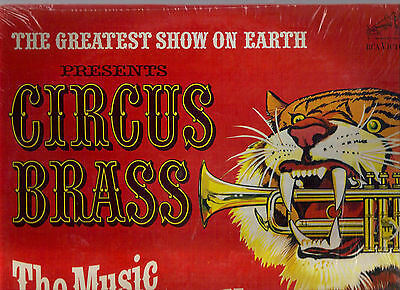 JOHN RINGLING NORTH on RCA mono LP: Circus Brass