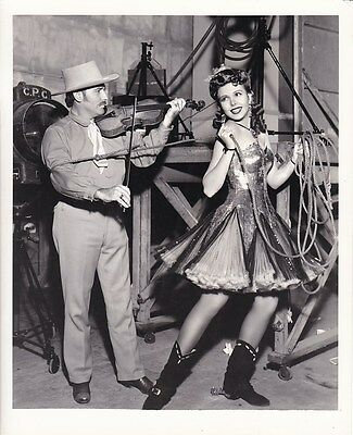 ANN MILLER Cowgirl BOB WILLS Original CANDID Vintage GO WEST YOUNG LADY Photo