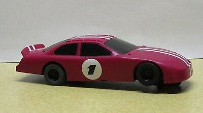 1/43 SCX NASCAR-in RED-GOOD CONDITION