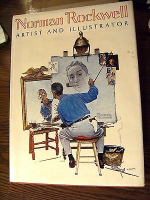 Norman Rockwell Artist and Illustrator Large Book Hardcover