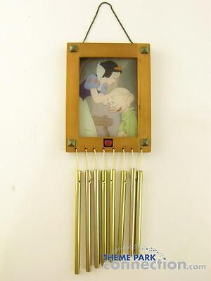 WALT DISNEY Store Exclusive SNOW WHITE AND THE SEVEN DWARFS Metal Wind Chime