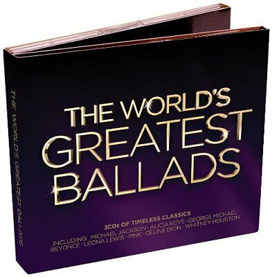 Various Artists - The World's Greatest Ballads - Various Artists CD FMVG The The