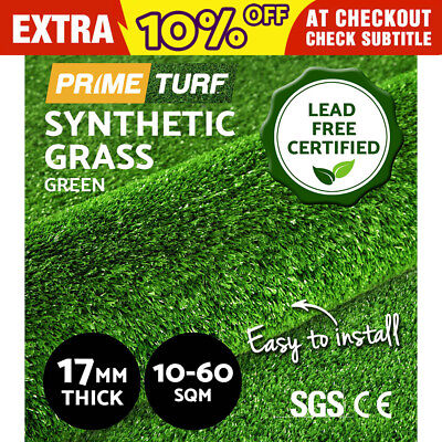 10-60 SQM Synthetic Turf Artificial Grass Plastic Plant Fake Lawn Flooring