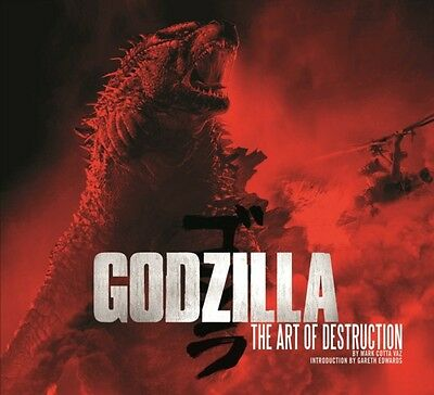 Godzilla - The Art of Destruction (Hardcover), Vaz, Mark Cotta, 9781783292806