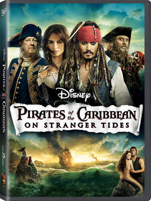 Pirates of the Caribbean: On Stranger Tides [New Blu-ray] With DVD, Widescreen