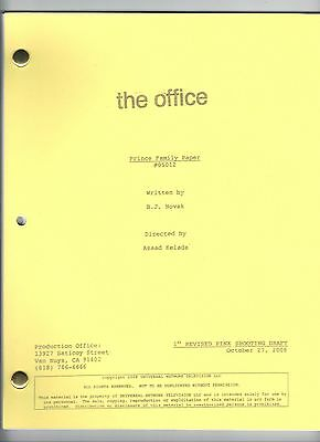 "THE OFFICE Show Script ""Prince Family Paper"""