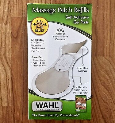 Wahl Massage Electronic Pain Relief Refills Brand New