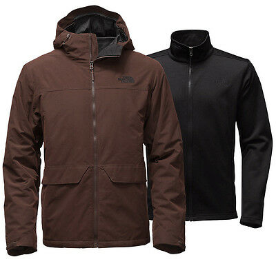 NEW 2016 The North Face CANYONLAND TRICLIMATE JACKET size M $260 SAMPLE 3 IN 1