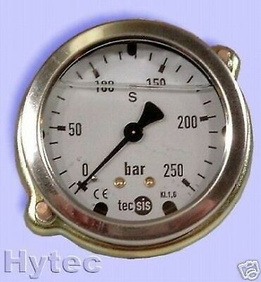 Manometer Stainless steel NG63 Glycerine for Panel mounting