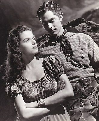JANE RUSSELL JACK BUETEL Original Vintage THE OUTLAW RKO Western Portrait Photo