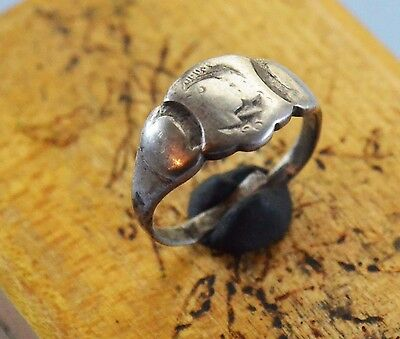 WWI Austria Hungary Silver patriotic Ring