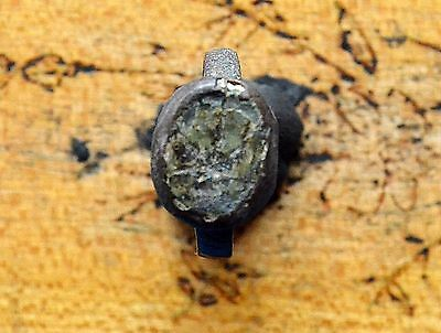 Medievil Viking Period ring with gemstone