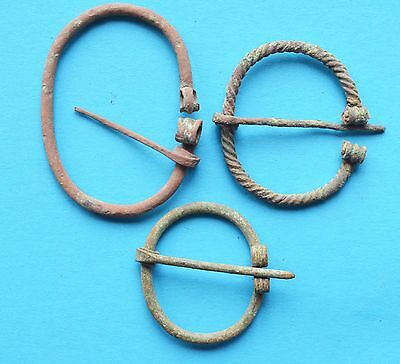 Ancient Pendant Viking Period Brooch Fibula
