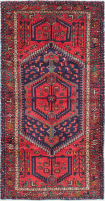 """Hand-knotted Carpet 3'6"""" x 6'8"""" Touserkan Wool Rug...DISCOUNTED PRICE!"""