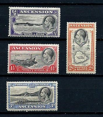 Ascension  Island GV Low Values MNH