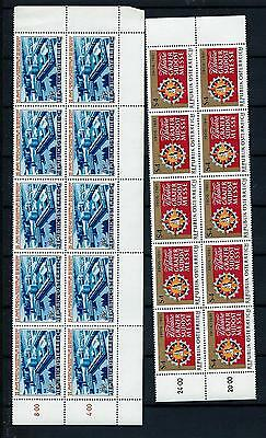 Austria MNH Blocks of TEN NO 2